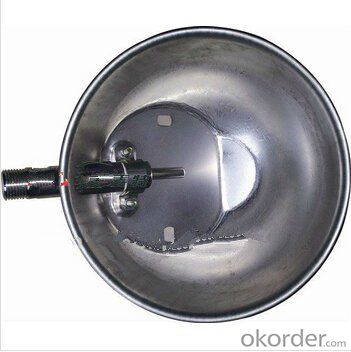 Universal Stainless Waterer for Pigs with Round Shape