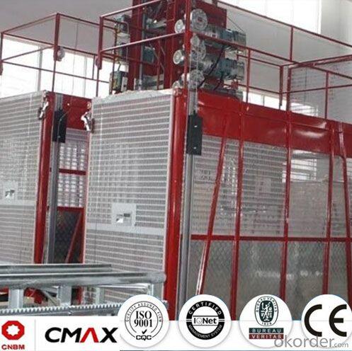 Building Hoist SC160/160 European Standard Electric Parts with 3.2ton Capacity