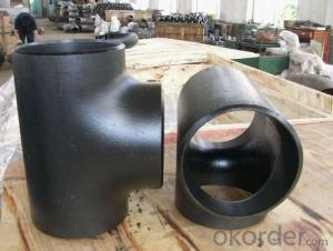 Steel Pipe Fittings Butt-Welding Equal Tees ASME B16.9/MSS SP-75