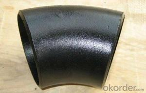 Alloy Steel Pipe Fittings Butt-Welding 45° Long Radius Elbows