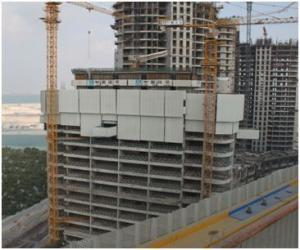 Auto-climbing Protection Panel for Skyscraper Construction
