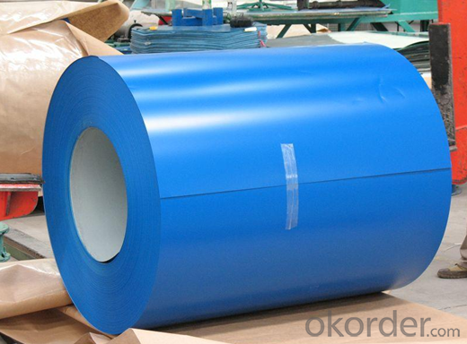 Pre-Painted Steel Coil Thickness 0.9mm Width 1250mm