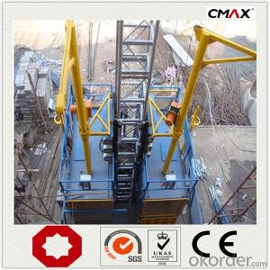 Building Lifter SCD300/300 0~60m/min Middle Speed