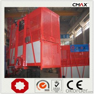 Building Hoist Single Cage for Construction Project