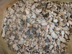 Low Impurity High Alumina Calcined Bauxite in Bulk of CNBM in China