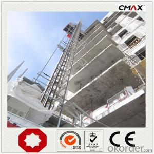 Construction Hoist 33m/min Lifting Speed