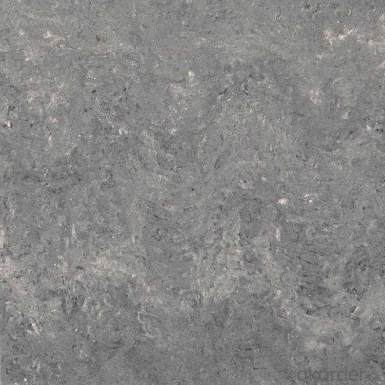 Double Loading Series Polished Porcelain Tile  Black Color ZST06137G