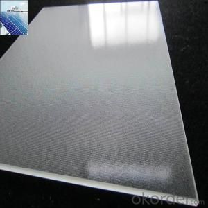 Solar Glass  Reinforced  Glass  3.2mm-2500*1680 etc.