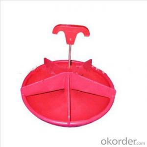 Plastic  Round  Feeding  Pan  for  Piglet  or  Poultry