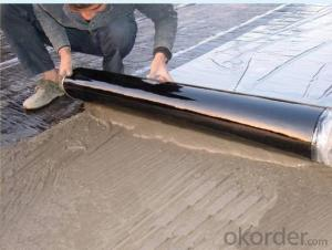 EPDM Self-adhesive Waterproof Membrane for Rooftop Rubber Foam CMAX
