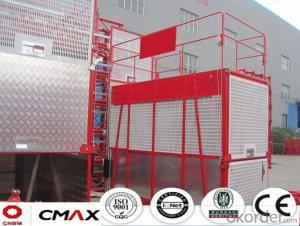 Building Hoist Hot Galvanizing Mast Section with 5.4ton Capacity