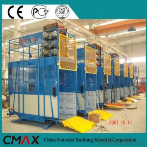 Twin/Single Cage Sc100/100 Construction Material Hoist Made in China
