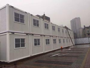 Prefabricated School Dormitory, Flat Pack Pu Rock Wool Sandwich Panel House