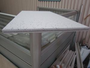 Mineral Fiber False Ceiling Board Tiles for Decoration