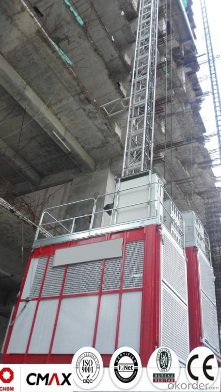 Building Hoist European Standard Electric Parts with 4ton Capacity