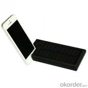 Solar Charger--Portable Mobile Phone For 8000Mah Mobile