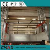 Elevador de construcción con sección de mástil para edificios/chimeneas/puentes
