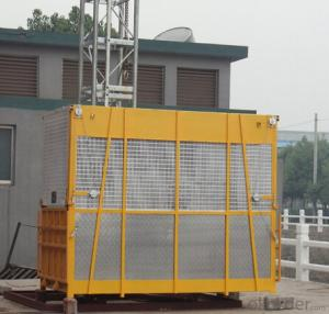 Single Cage Sc100/100 Construction Material Hoist