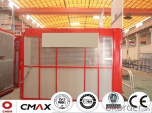 Building Hoist European Standard Electric Parts with 2ton Capacity