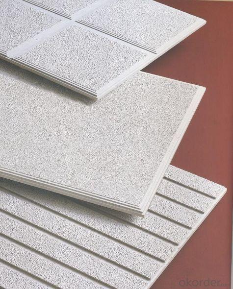Tegular  Mineral  Fiber  Ceiling (Acoustic Ceiling Tile)12mm/15mm