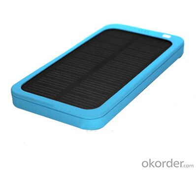 Solar Charger--Portable Mobile Phone For 5000Mah  Mobile