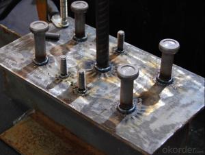 Shear Connectors/Shear studs ISO13918, AWS D1.1