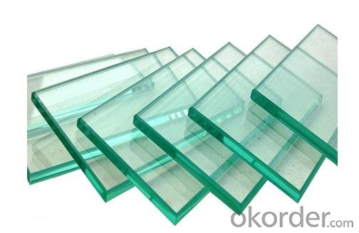 Glass for Flat Solar  Original Piece of Glass 4.0mm-2500*985 etc.