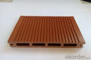 wpc prefab houses/ wood plastic composite deck board / WPC factory in China