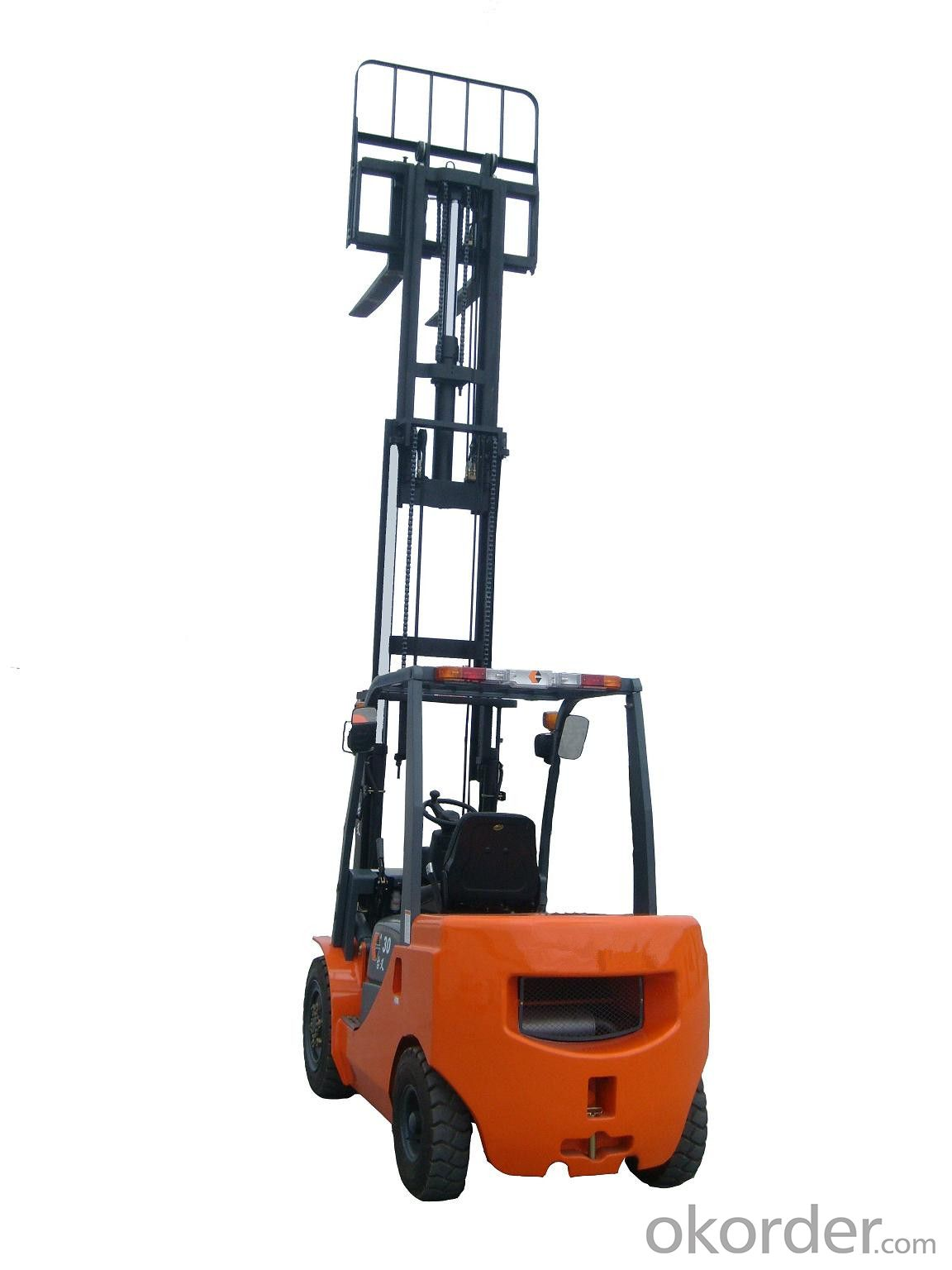 High Efficent Small 4.0T Forklift Truck with Good Price