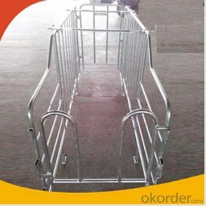 Galvanized Gestation Crate or Stall for Piglets(1 Booths)