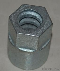 Light Duty of Hex nut for Scaffolding and Formwork System