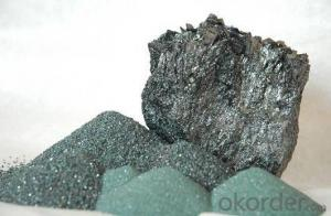 Black Silicon Carbide Powder Price 3-5mm SiC 98.5% with Best Price/China Manufacture
