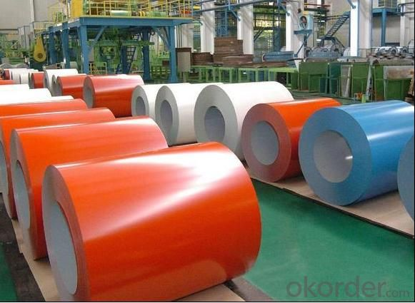 Color Coated Steel Sheet (ASTM A755) for Construction