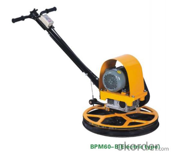 Power Trowel BPM60-B Electric Type