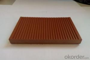Waterproof Wood Plastic Composite Decking Anti UV WPC Flooring High Quality