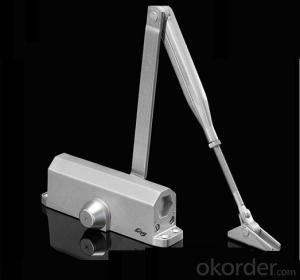 Hydraulic Door Closer/Silvery Hydraulic Door Closer with 45-60kgDC711