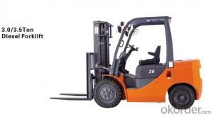 Efficent 10.0T Disel  Forklift Truck  with Good Price