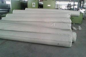 Staple fibers needle punched non woven geotextile with best quality