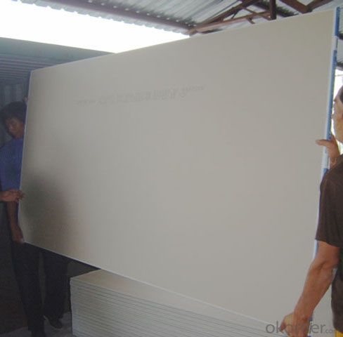 Fireproof Waterproof Gypsum Plaster Board SGS A1