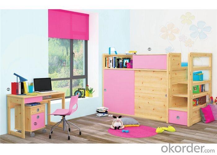 Children Bedroom Furniture with Environmental Material