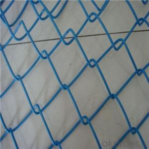 Chain Link Wire Mesh Electro Hot Dipped Galvanized PVC Coated Wire Mesh Fence