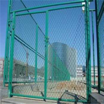Chain Link Wire Mesh Fence High Quality Galvanized PVC High Qulaity