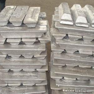 Aluminum Ingot  With High Purity 99.7% 99.9% With Best Price