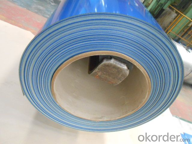 Pr-epainted Galvanized Steel Coil-S320GD+Z-Good Visual Effect