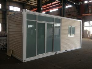 Container House Sandwich Panel Walls And Roof 20ft Standard Container House
