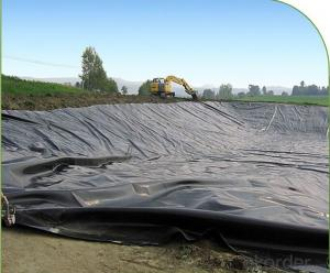 LDPE Geomembrane Black Plastic Sheeting