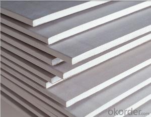 Fireproof Waterproof Gypsum Plaster Board SGS A1