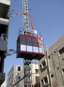 middle speed building hoist with CE, ISO9001 and Gost certificats approved