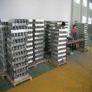 Aluminium Ingot  With High Grade 99.7% For Hot Sale