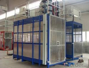 Double Cage Building Hoist (SC200/200) for Construction